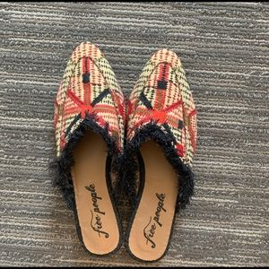 Free People Mules Size 8.5